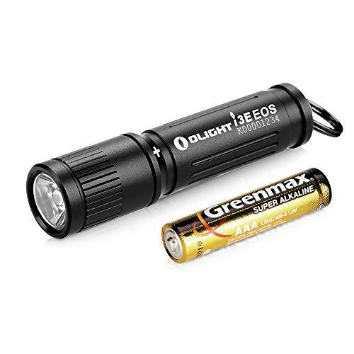 OLIGHT I3E EOS Mini Taschenlampe Schlüsselbund 90 Lumen und Reichweite 44 m, kleine Taschenlampe...