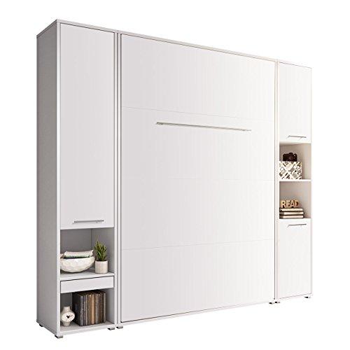 Mirjan24 Schlafzimmer-Set Concept Pro I Vertical, Wandklappbett und 2 Regale, Wandbett mit...