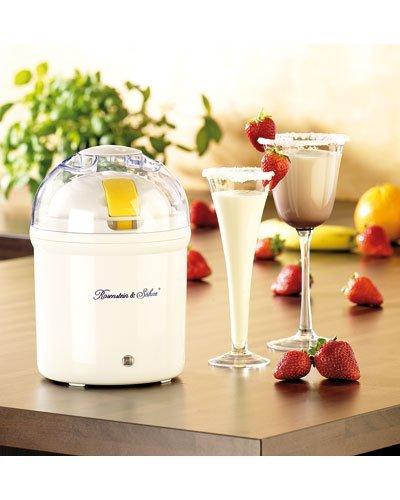 Rosenstein & Söhne Joghurtzubereiter: Joghurt-Maker für 1 Liter frischen Joghurt (Jogurtmaschine)