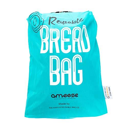 Ameeze - BROTBEUTEL - ÖKO TEX® 100% Recycling Polyester – robust, leicht, waschbar - Einkauf,...