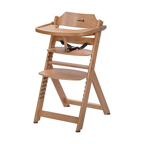 Safety 1st Timba Mitwachsender Hochstuhl, inkl. abnehmbares Tischchen, aus massivem Buchenholz, hohe...