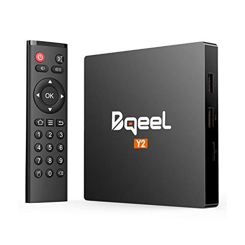 Bqeel Android TV Box Y2【2GB+16GB】 Smart TV Box unterstützt 4K/H.265/ WiFi IEEE 802.11b / g / n,...