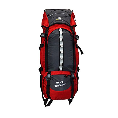 outdoorer Work and Travel Rucksack Work & Traveller 75+10 - großer Backpacker-Rucksack mit...