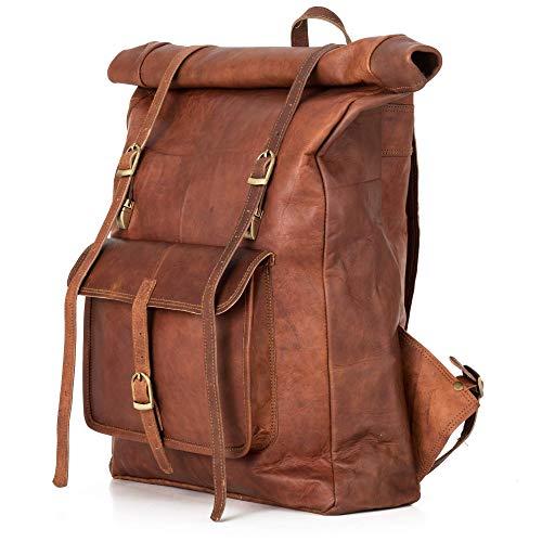 Rucksack Berliner Bags Leeds XL aus Leder Kurierrucksack Fahrradrucksack Schulrucksack Laptop Schule...