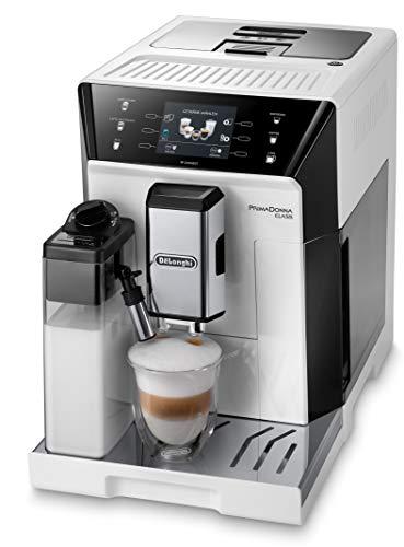 De'Longhi PrimaDonna Class ECAM 556.55.W Kaffeevollautomat mit Milchsystem, Cappuccino und Espresso...