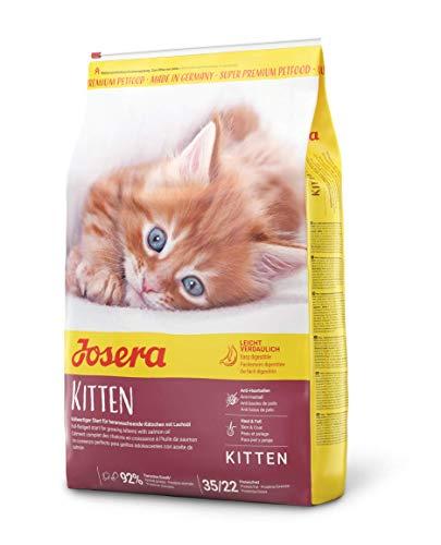 JOSERA Kitten, Katzenfutter für eine optimale Entwicklung, Super Premium Trockenfutter für...