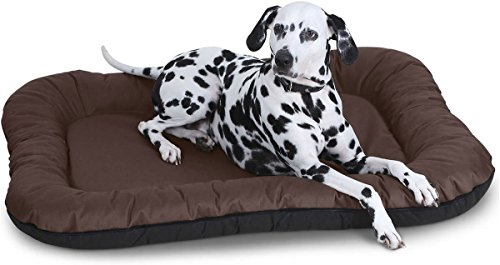 Knuffelwuff Hundebett Lucky In und Outdoor Hundekissen Hundesofa Hundekörbchen Hundekorb, Größe...