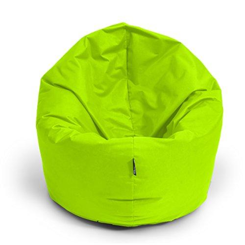 BubiBag Sitzsack L | 2-in-1 Sitzkissen mit Füllung Bodenkissen Kissen Sessel BeanBag (100cm...