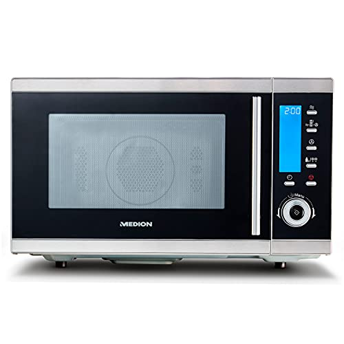 MEDION MD 15501 4 in 1 Mikrowelle mit Grill (25 Liter, 900 Watt, 1100 Watt Grill, 2500 Watt...