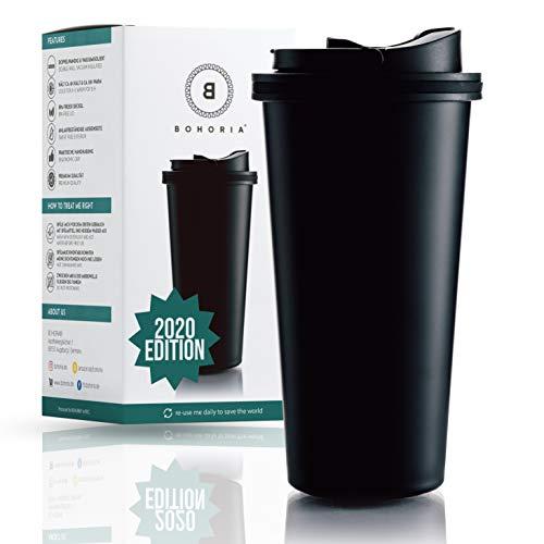 BOHORIA® Premium Edelstahl Kaffee-to-Go-Becher 2020 Edition   Thermo-Becher   Isolierbecher –...