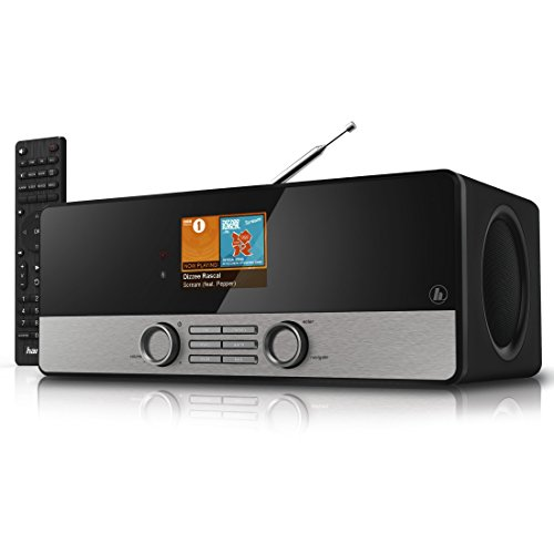 Hama Internetradio Digitalradio DIR3100MS (Streaming, Spotify, WLAN/LAN/DAB+/FM, 2,8' Farbdisplay,...