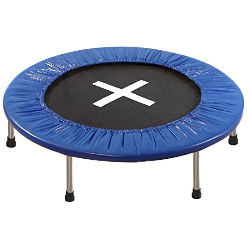 Ultrasport Trampolin Jumper, Mini-Trampolin für Kinder & Erwachsene, Indoor- und Outdoor-Trampolin,...