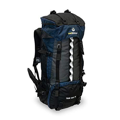 outdoorer Trekkingrucksack Trek Bag 70, 2kg - idealer Backpacker-Rucksack, Reise-Rucksack,...