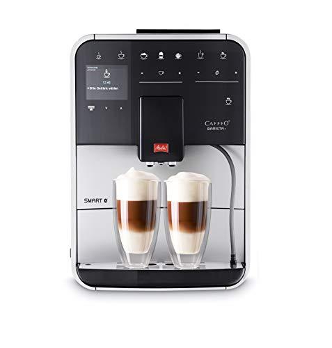 Melitta Caffeo Barista T Smart F831-101, Kaffeevollautomat, Smartphone-Steuerung mit Connect App,...