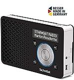 TechniSat Digitradio 1 tragbares DAB Radio mit Akku (DAB+, UKW, Lautsprecher, Kopfhöreranschluss,...