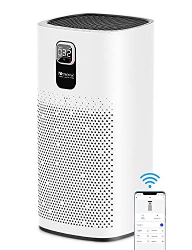 Proscenic Luftreiniger Air Purifier App Steuerung, 99,97% Filterleistung, Hepa 13 Filter, CADR...