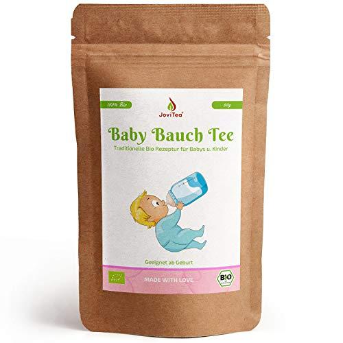 JoviTea Baby Bauch Tee BIO Tee für Babys und Kinder - Mit Fenchel und anderen kraftvollen Kräutern...