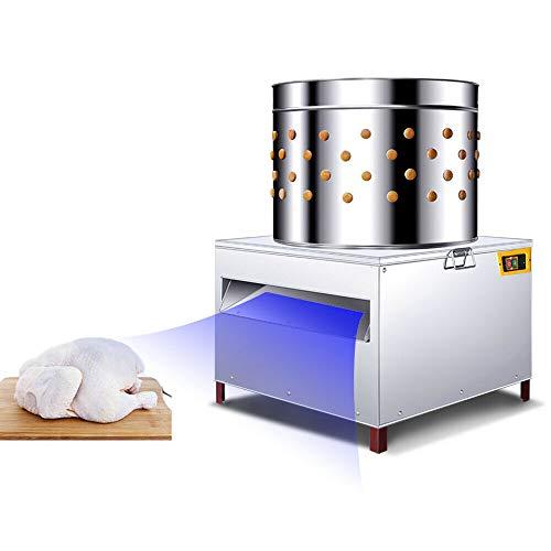 YUEWO Automatische Geflügelpflücker Hühnerpflücker Geflügel-Rupfmaschine mit Wasseranschluss...
