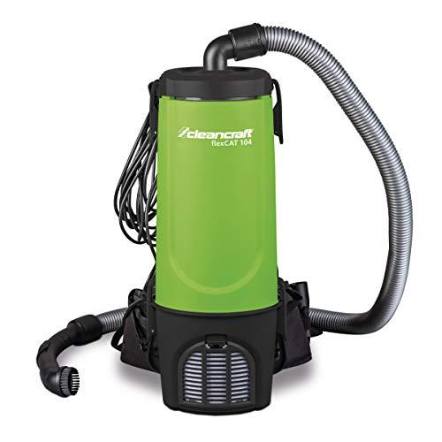 Cleancraft Spezialsauger flexCAT 104, Behälter 4 l, mit Tragegurt, Rucksacksauger, umfangreiches...