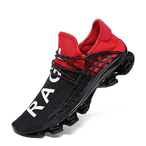 FUSHITON Sportschuhe Herren Laufschuhe Damen Turnschuhe Freizeitschuhe Atmungsaktiv Sneakers Mode...