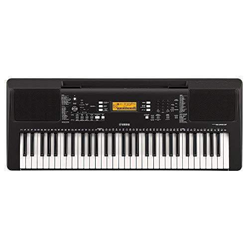 Yamaha Digital Keyboard PSR-E363, schwarz – Vielseitiges Instrument mit 61 anschlagdynamischen...