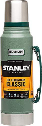Stanley Vakuum Flasche Vakuumflasche, Edelstahl, Hammertone Green, 96 mm