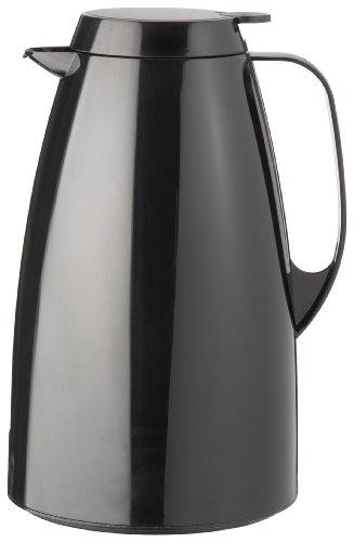 Emsa 505363 Isolierkanne, Thermoskanne, 1,5l Füllvolumen, Kaffeekanne, Quick Tip Verschluss, Basic...
