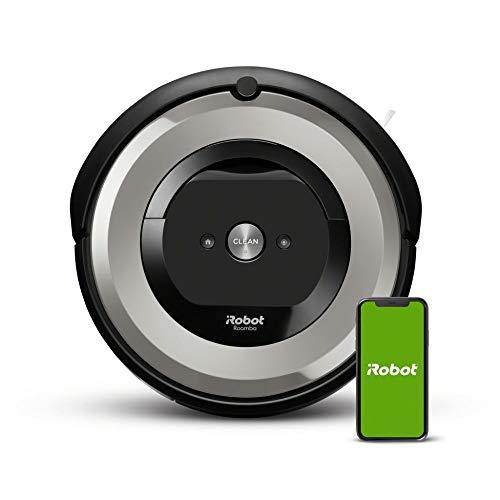 iRobot Roomba e5 (e5154) Saugroboter mit mit 3-stufigem Reinigungssystem, zwei Multibodenbürsten,...