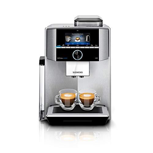 Siemens EQ.9 plus connect s500 Kaffeevollautomat TI9555X1DE, automatische Reinigung,...