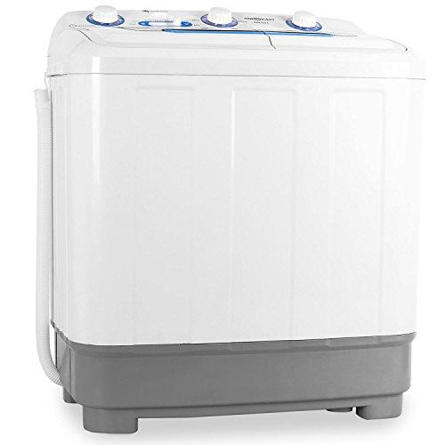 oneConcept DB004 - Mini-Waschmaschine, Camping-Waschmaschine, Waschmaschine für Singles, 4.8kg...