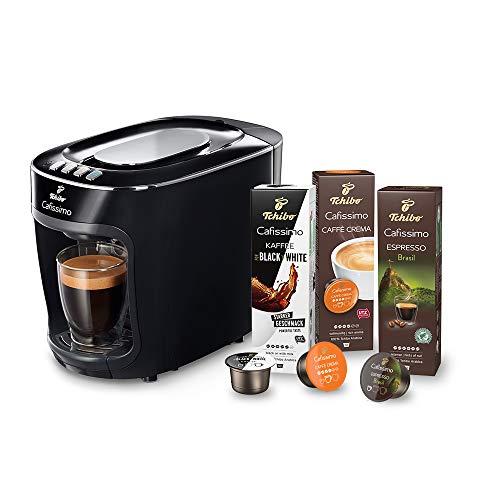 Tchibo Cafissimo mini Kapselmaschine (für Kaffee, Espresso, Caffé Crema und Tee) (inkl. 30...