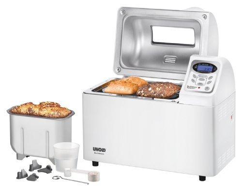 UNOLD Brotbackautomat Backmeister Extra, 700 W, 750-1800g Brotgewicht, Keramik-Beschichtung, 68511
