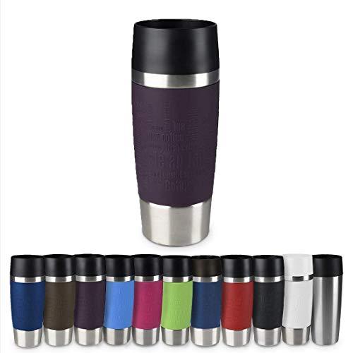 Emsa 513359 Travel Mug Thermo-/Isolierbecher, Fassungsvermögen: 360 ml, hält 4h heiß/ 8h kalt,...