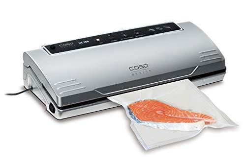 CASO VC100 Vakuumierer - Vakuumiergerät, Lebensmittel bleiben bis zu 8x länger frisch -...
