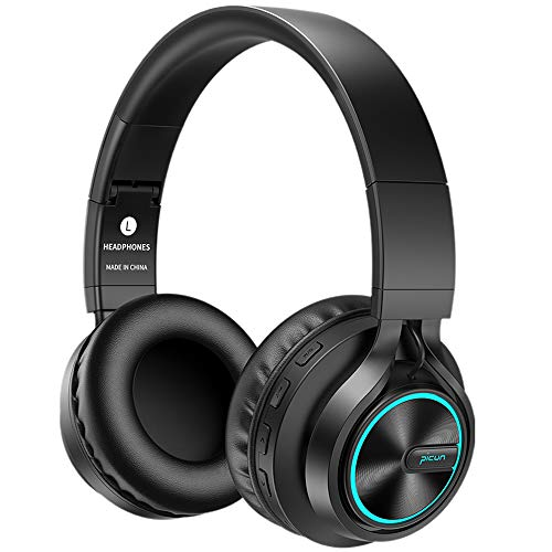 Bluetooth Kopfhörer Hifi BAONUOR Kabellos Bluetooth Headset On-Ear, HiFi Stereo Sound mit Bass,...