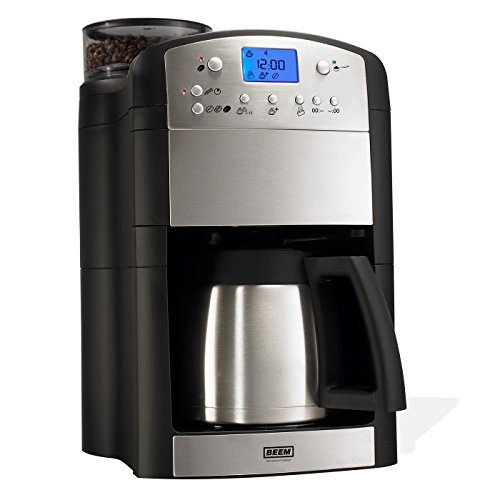 BEEM FRESH-AROMA-PERFECT Filterkaffeemaschine mit Mahlwerk - Thermo   BASIC SELECTION   24h-Timer