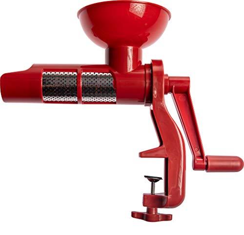 Browin Manuelle Passiermaschine, Speisensieb und Soßenmaschine für Tomaten, frisches Obst und...