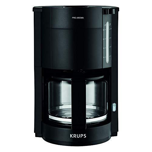 Krups F30908 ProAroma Filterkaffeemaschine mit Glaskanne | 1,25L Füllmenge | 10-15 Tassen | 1050W |...