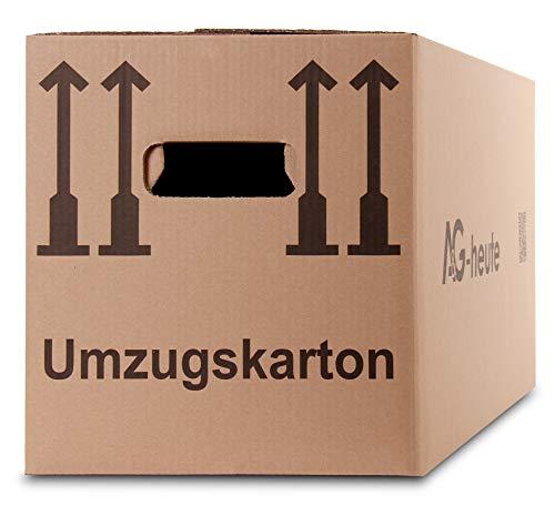 A&G-heute 30 Stück Umzugskartons 600 x 330 x 340mm Standard Faltkartons Umzugskisten 2-wellig...