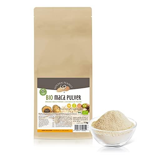 Bio Maca Pulver 1 kg   Echte Macawurzel, gemahlen   Premiumqualität   Powerwurzel  ohne Zusätze  ...