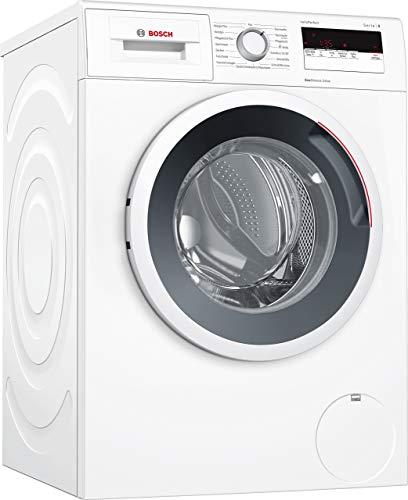 Bosch WAN28121 Serie 4 Waschmaschine Frontlader / A+++ / 157 kWh/Jahr / 1390 UpM / 7 kg / Weiß /...