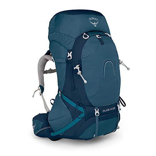 Osprey Europe Damen Aura AG 65 Backpacking Pack, Challenger Blue, WS