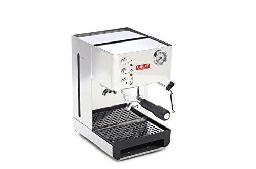 Lelit Anna PL41EM semi-professionelle Kaffeemaschine, ideal für Espresso-Bezug, Cappuccino und...