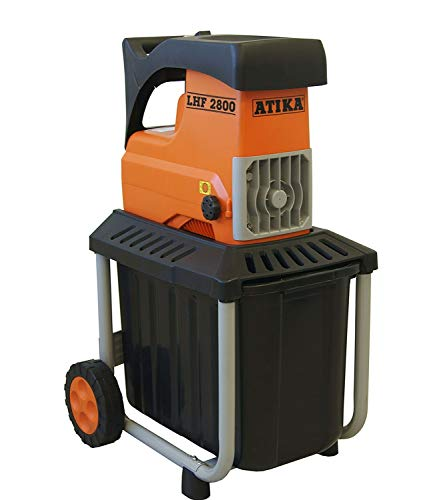 ATIKA LHF 2800 Leise-Walzenhäcksler Gartenhäcksler Elektrohäcksler Schredder   230V   2800W