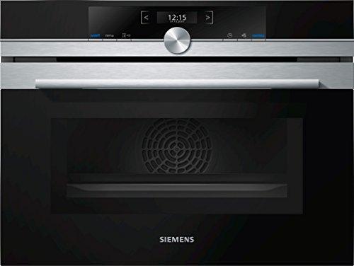 Siemens CM633GBS1 iQ700 Backofen Elektro / 45 L / Edelstahl / Integrierte Mikrowelle /...