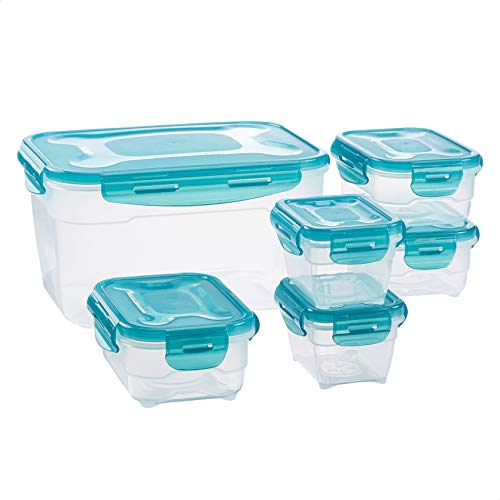 Amazon Basics 6 pcs Food Storage Set