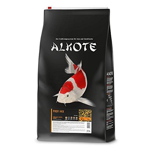 AL-KO-TE, 3-Jahreszeitenfutter für Kois, Frühjahr bis Herbst, Schwimmende Pellets, Hauptfutter...