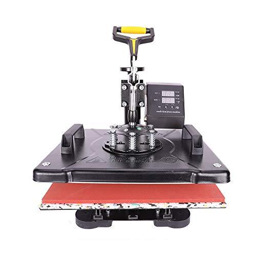 Sfeomi 5 in 1 Hitzepresse Heißpresse Heat Press Machine 38x30cm Transferpresse Tassenpresse...