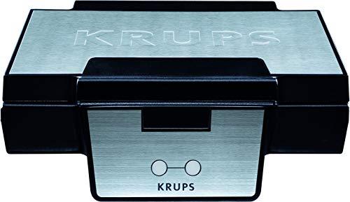 Krups Waffeleisen FDK251 | Doppelwaffeleisen | 2 Belgische Waffeln gleichzeitig |...