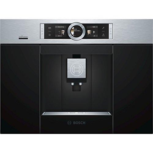 Bosch CTL636ES6 Einbau-Kaffee-Vollautomat / 2,4 Liter / 59.4 cm / Edelstahl / AutoMilk Clean -...